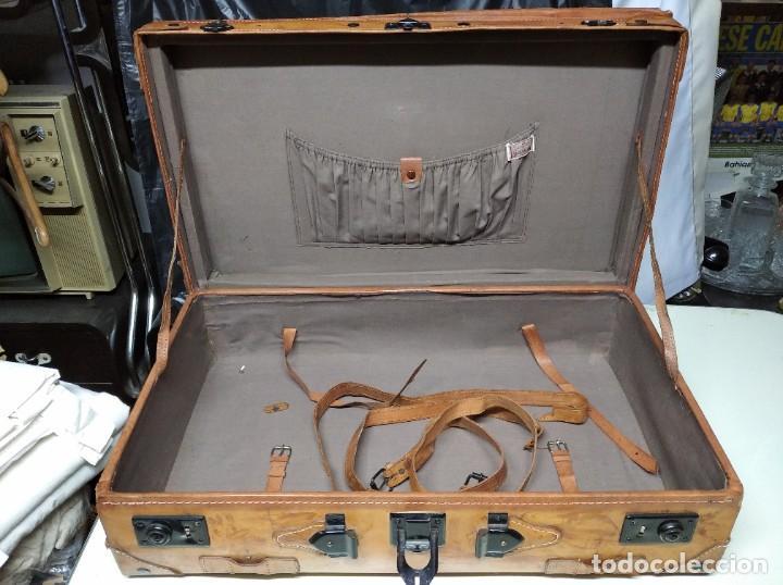 Vintage: Maleta de piel. Marca Giovanni, Original Bagages. - Foto 5 - 195340931