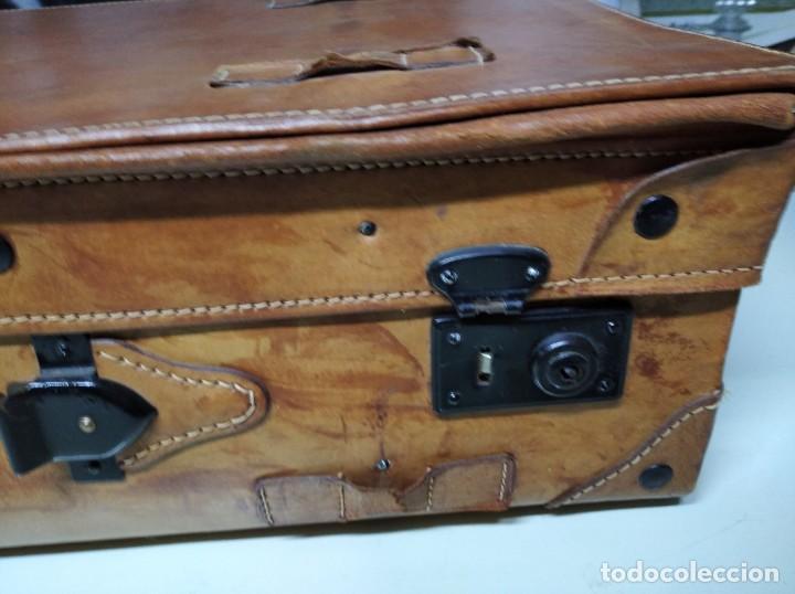 Vintage: Maleta de piel. Marca Giovanni, Original Bagages. - Foto 6 - 195340931