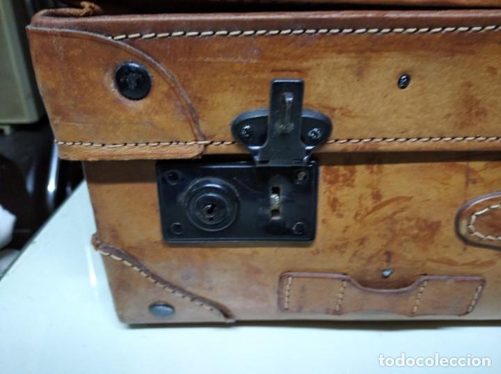 Vintage: Maleta de piel. Marca Giovanni, Original Bagages. - Foto 7 - 195340931