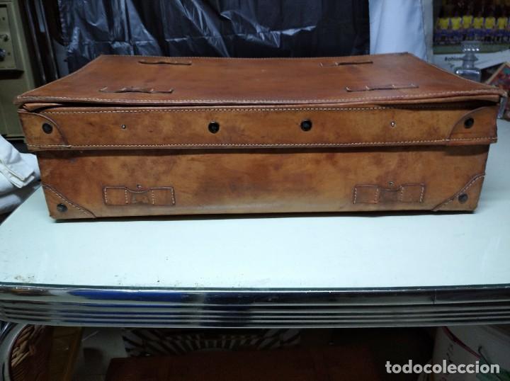 Vintage: Maleta de piel. Marca Giovanni, Original Bagages. - Foto 12 - 195340931