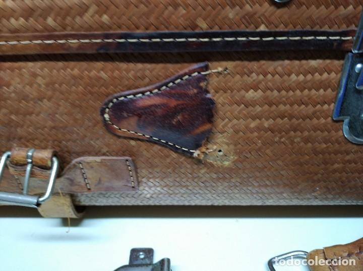 Vintage: Maleta marca Giovanni, Real Classic Styles, Trade Mark, Natural Explorer. Tiene fácil reparación. - Foto 3 - 195341226
