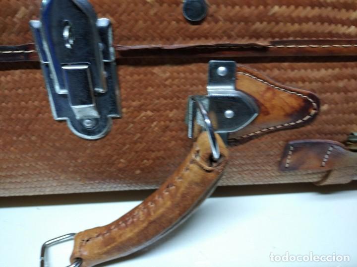 Vintage: Maleta marca Giovanni, Real Classic Styles, Trade Mark, Natural Explorer. Tiene fácil reparación. - Foto 5 - 195341226