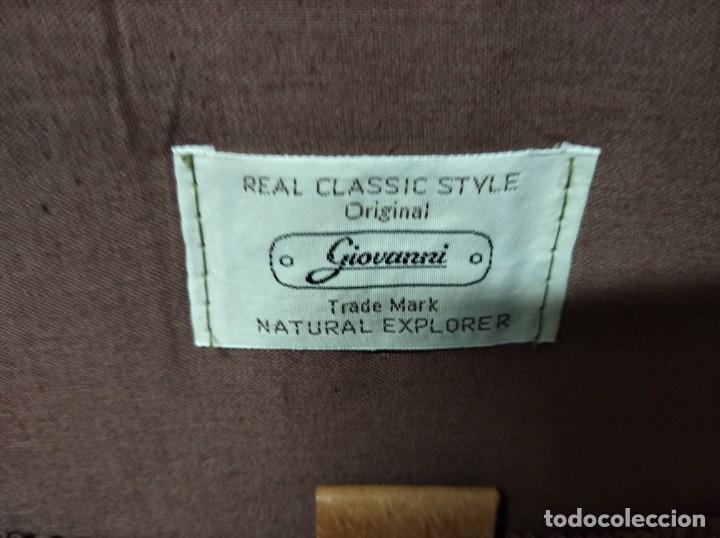 Vintage: Maleta marca Giovanni, Real Classic Styles, Trade Mark, Natural Explorer. Tiene fácil reparación. - Foto 10 - 195341226