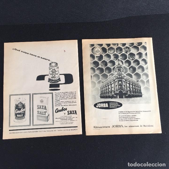 PUBLICIDAD VINTAGE.ALMACENES JORDA SALES CEREBOS (Vintage - Varios)