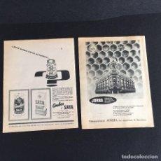 Vintage: PUBLICIDAD VINTAGE.ALMACENES JORDA SALES CEREBOS . Lote 195354917