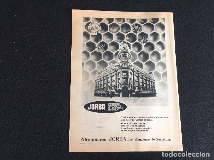 Vintage: PUBLICIDAD VINTAGE.ALMACENES JORDA SALES CEREBOS - Foto 3 - 195354917