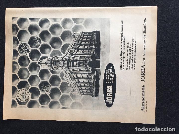 Vintage: PUBLICIDAD VINTAGE.ALMACENES JORDA SALES CEREBOS - Foto 4 - 195354917