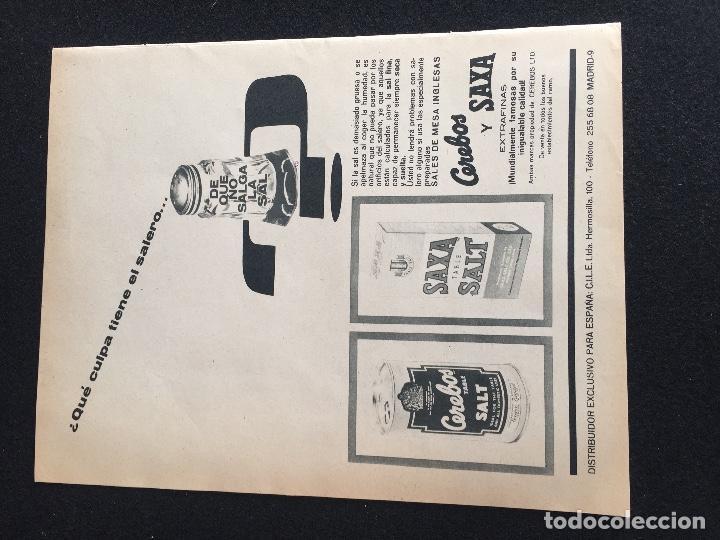Vintage: PUBLICIDAD VINTAGE.ALMACENES JORDA SALES CEREBOS - Foto 5 - 195354917