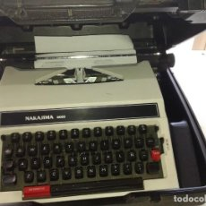 Vintage: MAQUINA DE ESCRIBIR NAKAJIMA 8000 (MADE IN JAPAN) CON MALETÍN. Lote 195377613