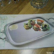 Vintage: BANDEJA PLATEADA VINTAGE ALEMANA. Lote 195379727
