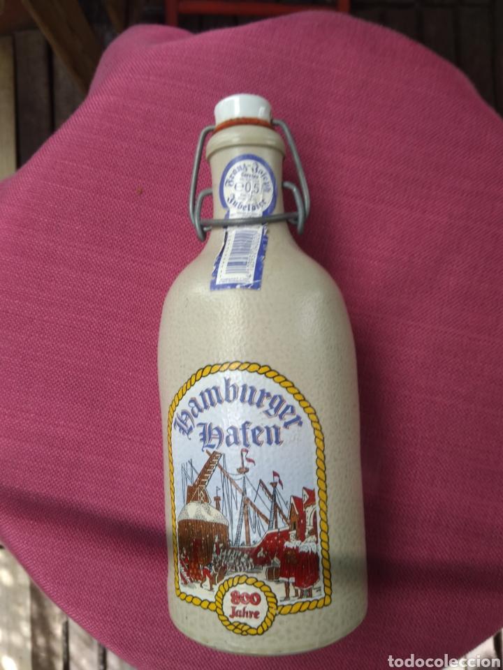 Vintage: Botella vacía cerveza - Foto 2 - 195472693