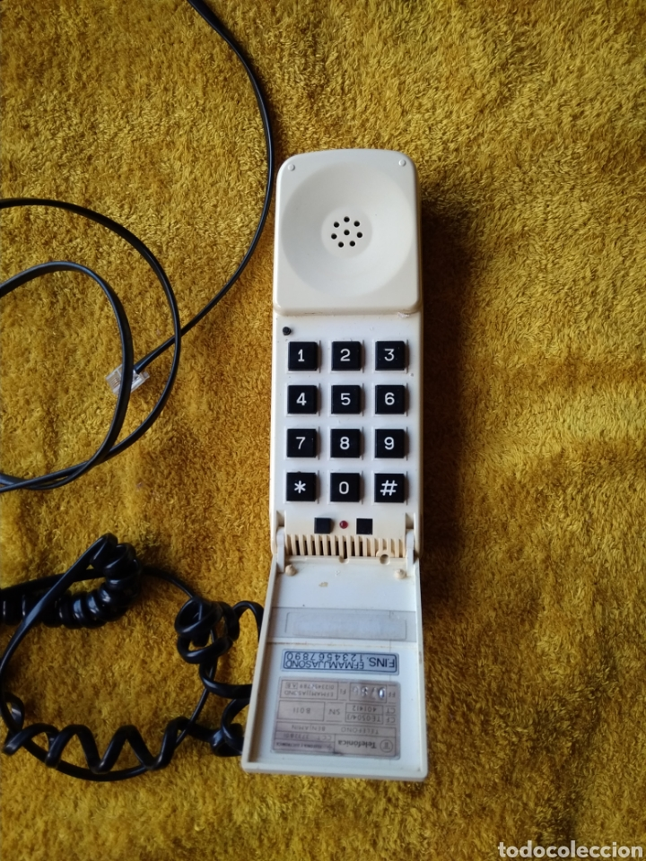TELÉFONO BENJAMÍN AÑOS 80. FUNCIONA PERFECTAMENTE. (Vintage - Varios)