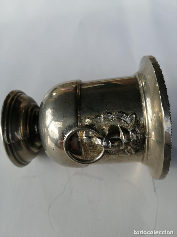 Vintage: Copa decorativa E. P. Zinc Italia - Foto 2 - 196289655