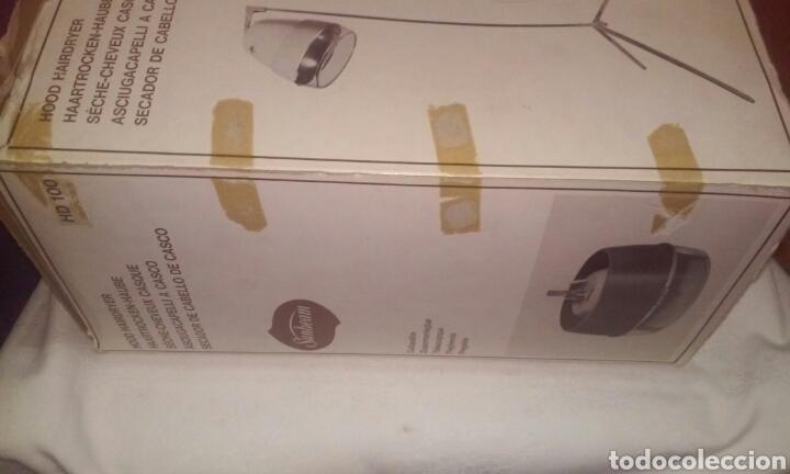 Vintage: secador de cabello de casco original vintage -años 60 aprox.- lady sunbeam hd 101 - Foto 12 - 197127676