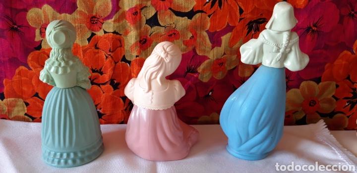 Vintage: PERFUME AVON-LOTE 3 FRASCOS VACIOS CON MUJER - Foto 5 - 197387226