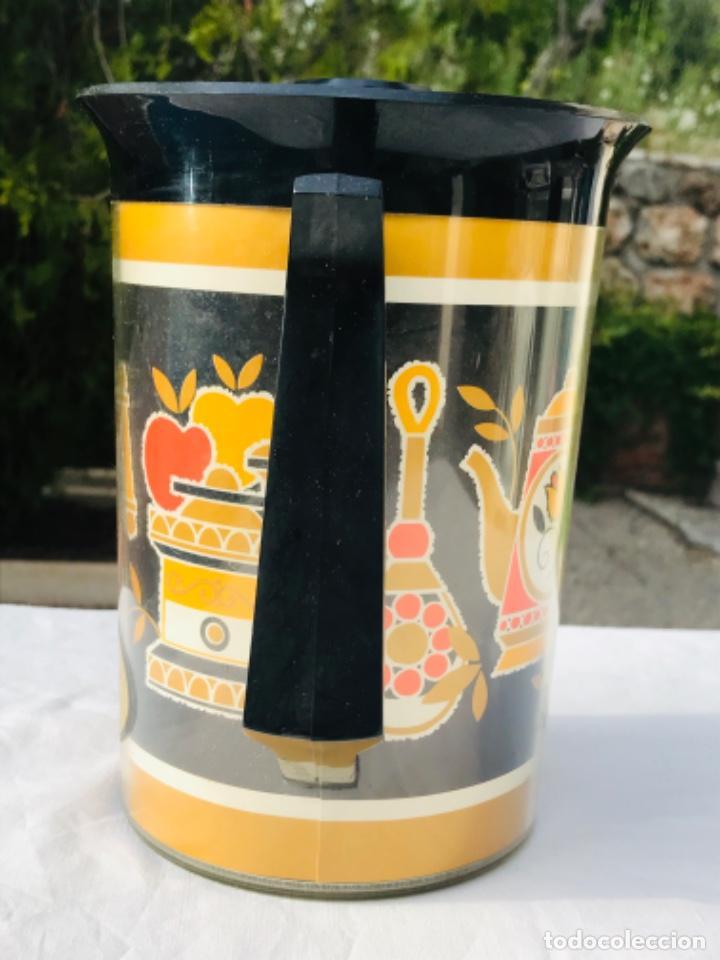 Vintage: Jarra termo thermo Serw original sin uso america años 60 doble proteccion diseño años 70 muy bonito - Foto 2 - 198117718