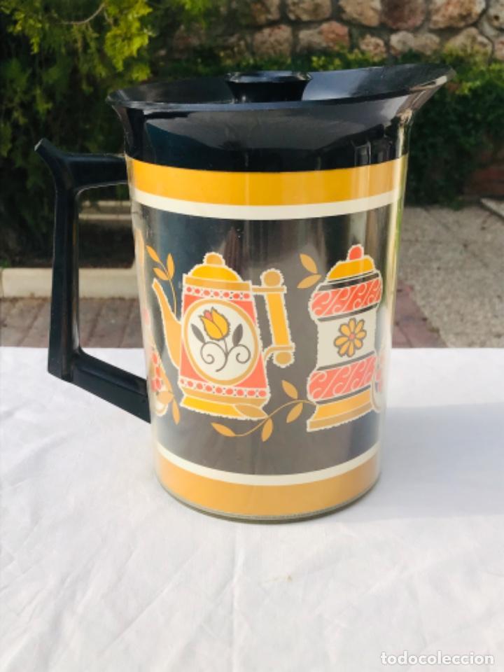 Vintage: Jarra termo thermo Serw original sin uso america años 60 doble proteccion diseño años 70 muy bonito - Foto 3 - 198117718