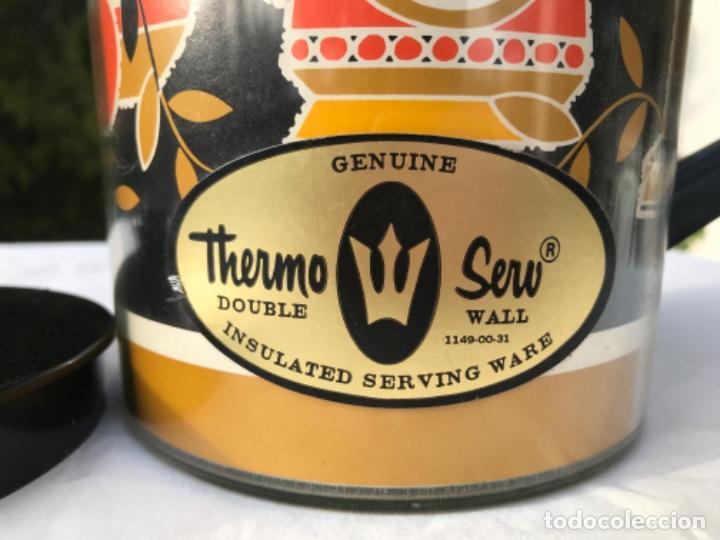 Vintage: Jarra termo thermo Serw original sin uso america años 60 doble proteccion diseño años 70 muy bonito - Foto 10 - 198117718