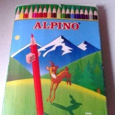 Vintage: CAJA PINTURAS ALPINO-USADAS. Lote 198663731