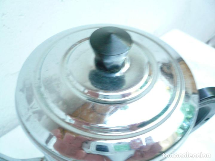 Vintage: CAFETERA COBRE CROMADO. MARCA MENESA. FRANCIA - Foto 9 - 200306656