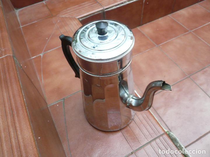 Vintage: CAFETERA COBRE CROMADO. MARCA MENESA. FRANCIA - Foto 11 - 200306656