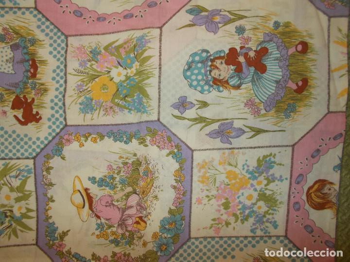 Vintage: HOLLY HOBBIES FUNDA ALMOHADA 73CMX46CM APROX. ORIGINAL AÑOS 80 - Foto 3 - 201374842
