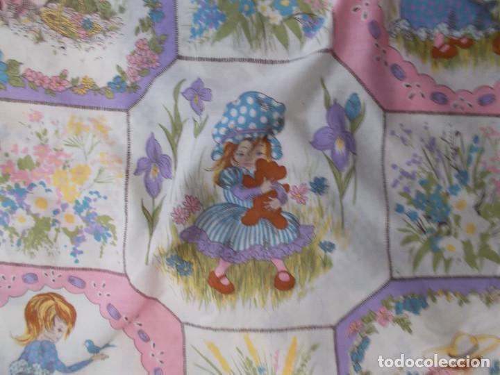 Vintage: HOLLY HOBBIES FUNDA EDREDON CAMA INDIVIDUAL ORIGINAL AÑOS 80 - Foto 4 - 201374923