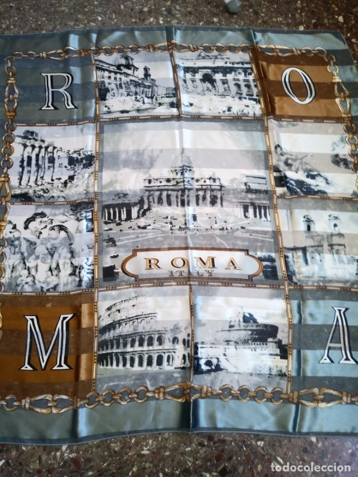 PAÑUELO ROMA ITALY (Vintage - Varios)