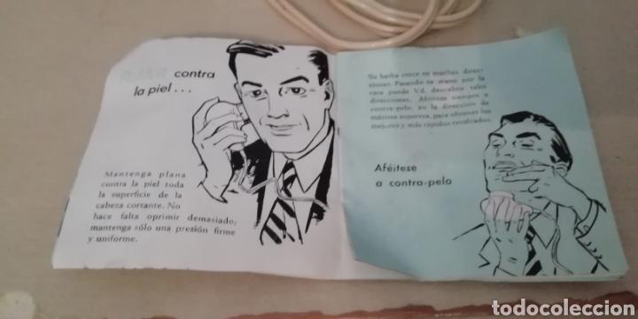 Vintage: Antigua máquina de afeitar Philishave 7743. Con manual incluido. - Foto 9 - 202795132