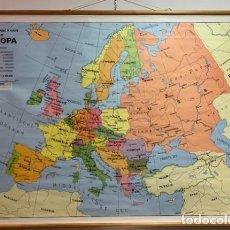 Vintage: HEBRI. MAPA EUROPEO POLÍTICO.. Lote 202814798