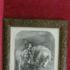 Vintage: LE TROMPETTE DE JHON GILBERT CUADRO VINTAGE. Lote 203560092