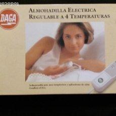 Vintage: ALMOHADILLA ELÉCTRICA REGULABLE - DAGA. Lote 204613746