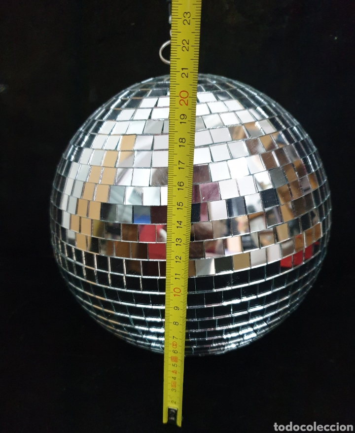 Vintage: Bola de discoteca - Foto 4 - 204640670