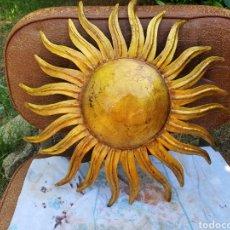 Vintage: APLIQUE DE PARED SOL VINTAGE. Lote 203865043