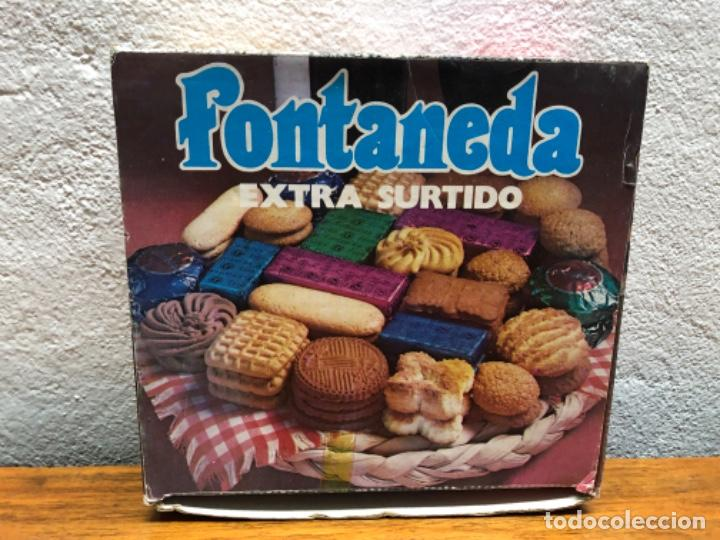 CAJA GALLETAS SURTIDAS FONTANEDA (Vintage - Varios)