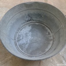 Vintage: BARREÑO - ZINC - 50 X 26 CM.. Lote 205305716