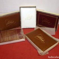 Vintage: LOTE DE 5 ALBUM DE FOTOS VINTAGE.SIN ESTRENAR.. Lote 205336100