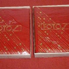 Vintage: LOTE DE 2 ALBUM DE FOTOS - VINTAGE.SIN ESTRENAR.. Lote 205336151