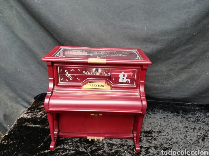 Vintage: Joyero musical piano - Foto 2 - 205341381