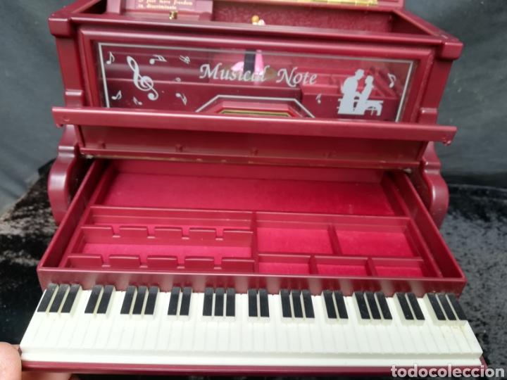 Vintage: Joyero musical piano - Foto 4 - 205341381