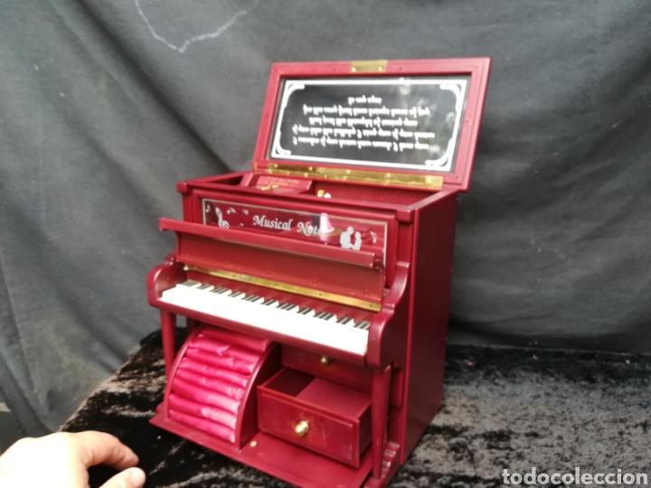 Vintage: Joyero musical piano - Foto 6 - 205341381