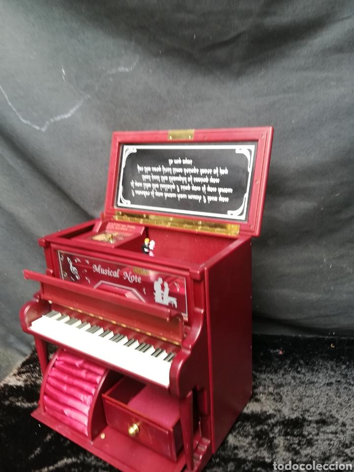 Vintage: Joyero musical piano - Foto 7 - 205341381
