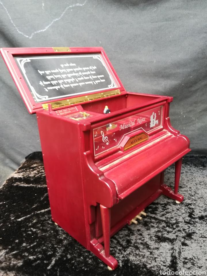 Vintage: Joyero musical piano - Foto 8 - 205341381