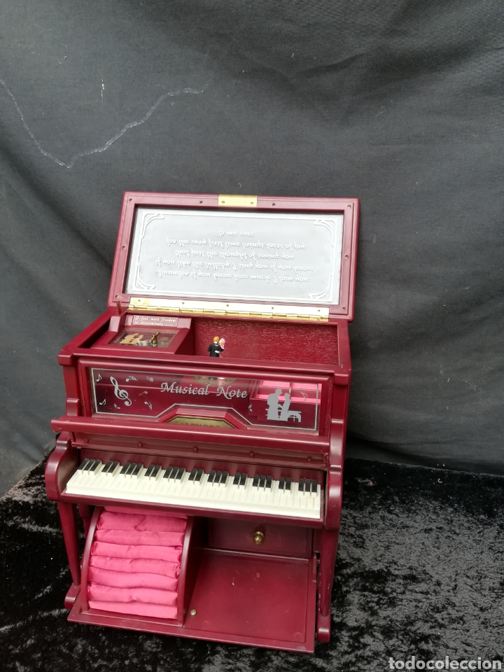 JOYERO MUSICAL PIANO (Vintage - Varios)