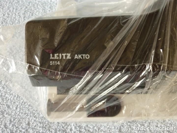 Vintage: LEITZ 5114 Akto Perforadora, Taladradora Taladro Profesional Universal - Foto 2 - 206495917