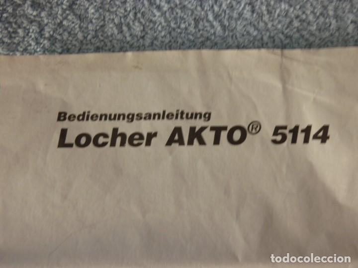Vintage: LEITZ 5114 Akto Perforadora, Taladradora Taladro Profesional Universal - Foto 9 - 206495917