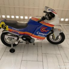 Vintage: MOTO BATERIA MARCA INJUSA CAMPSA 6. Lote 206854182