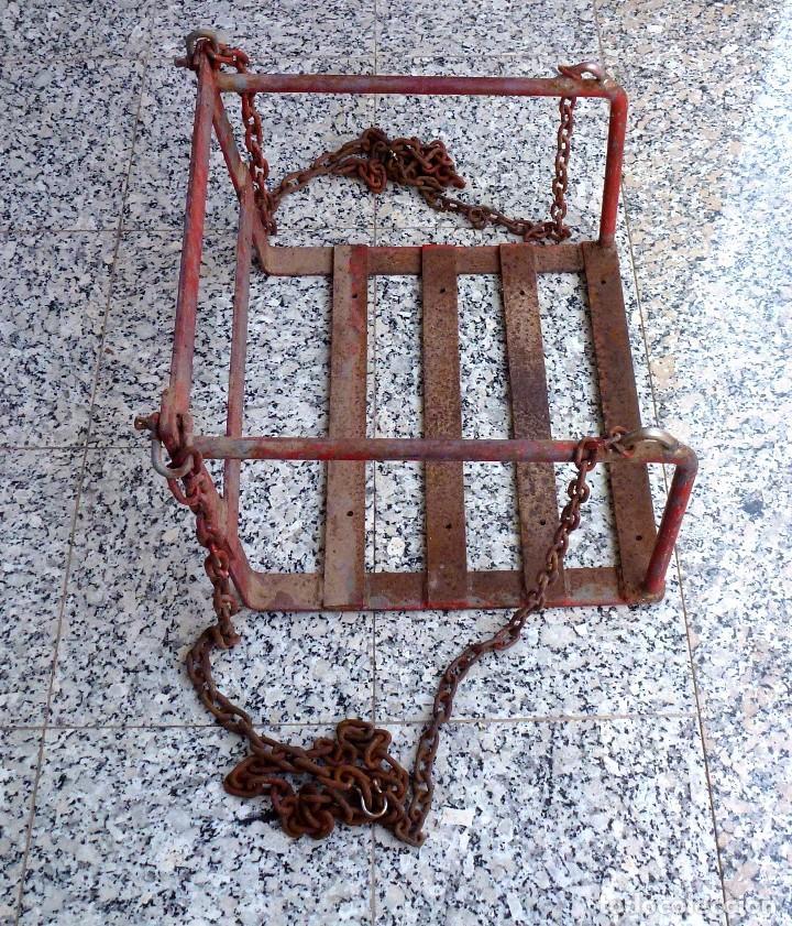 Vintage: Antiguo Columpio De Hierro Macizo(No Tubo). - Foto 4 - 206943622