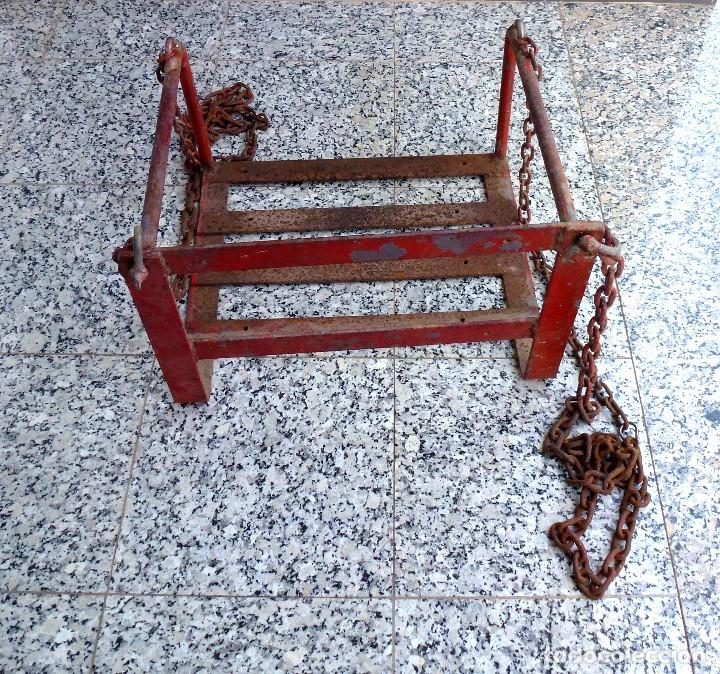 Vintage: Antiguo Columpio De Hierro Macizo(No Tubo). - Foto 5 - 206943622