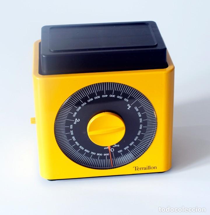 Vintage: Báscula de cocina marca Terraillon, Made in France. Incompleta, le falta la bandeja. Hasta 3 kg. - Foto 2 - 207043407